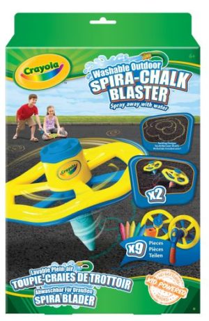 Crayola Ελικοειδής Εκτοξευτής Κιμωλίας (03.5058)