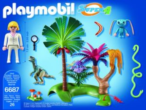 Playmobil Super 4 - Ο Σπίθας Στο Χαμένο Νησί (6687)