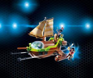 Playmobil Super 4 Η Ρούμπι Με Το Πειρατικό Chameleon (9000)