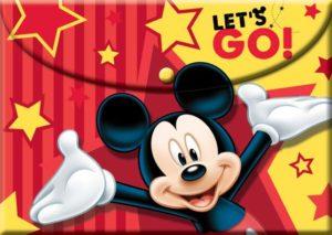 Mickey Street Smart Φάκελος Κουμπί PP (340-70580)
