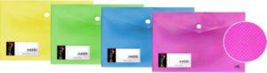 DK Φάκελος Κουμπί Α4 My Neon 4 Χρώματα-1Τμχ (754.105-A4MY)
