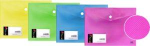 DK Φάκελος Κουμπί Α5 My Neon 4 Χρώματα-1Τμχ (754.105-A5MY)