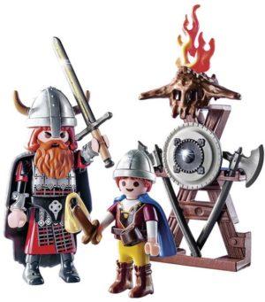 Playmobil Βίκινγκ Με Παιδάκι & Όπλα (9209)