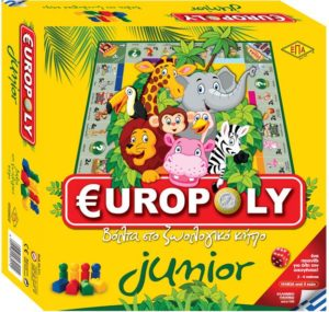 Επιτραπέζιο Junior Europoly (03-211)