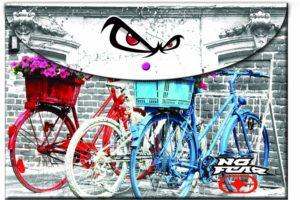 No Fear Color Flower Bikes Φάκελος Κουμπί (347-00580)