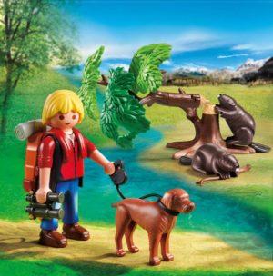 Playmobil Εξερευνητής & Κάστορες (5562)