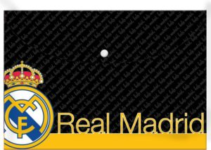 Real Madrid Φάκελος Κουμπί Α4 (0170554)