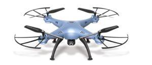 Syma Τηλ/νο Drone Quadcopter w/Camera Real Time-2 Σχέδια (X5HW)