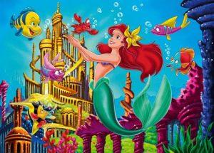 Clementoni Παζλ 3Χ48 Disney- Η Μικρή Γοργόνα (1200-25131)