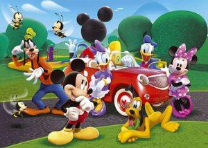 Clementoni Παζλ 250 S.C Disney-Mickey Club House (1210-29489)
