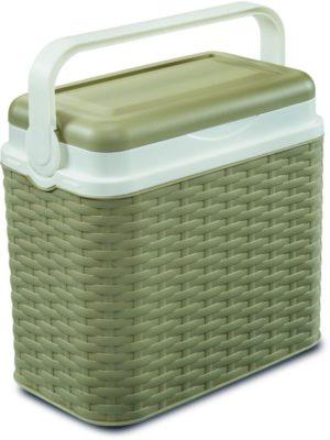 Adriatic Φορητό Ψυγείο Midollino 10lt-Beige (8031)