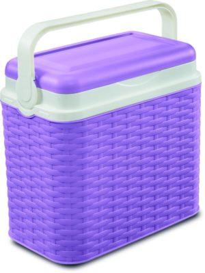 Adriatic Φορητό Ψυγείο Midollino 10lt-Lavender (8041)
