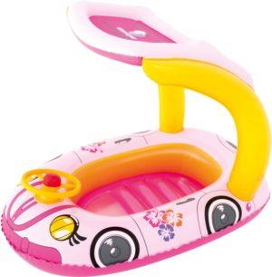 Bestway Φουσκωτή Βάρκα Uv Carefull Kiddie Car Floats-2 Σχέδια (34103)