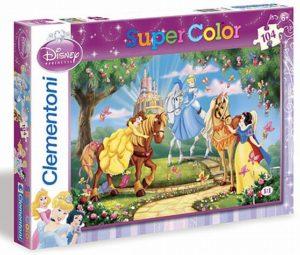Clementoni Παζλ 104 S.C Disney-Princess Βόλτα Με Τα Άλογα (1210-27790)