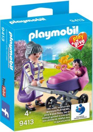Playmobil Play & Give Γιαγιά Με Μωράκι (9413)