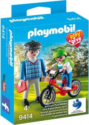 Playmobil Play & Give Παππούς Με Εγγονό (9414)
