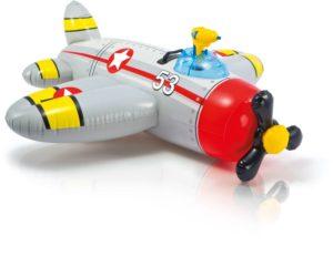Intex Water Gun Αεροπλάνο Ride On-2 Σχέδια (57537NP)