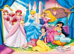 Clementoni Παζλ 24 Maxi Disney Princess-Shining Jewels (24420)
