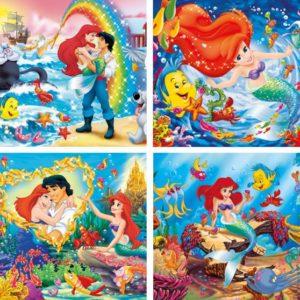 Clementoni Παζλ 4x6 Disney The Little Mermaid (20543)