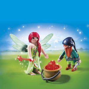 Playmobil Duo Pack Νεράιδα & Νάνος (6842)