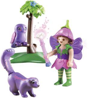 Playmobil Mικρή Νεράιδα Με Κουκουβάγια & Κουνάβι (9140)