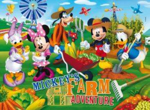 Clementoni Παζλ 104 Disney-Mickey Club House:Farm Adventure (27827)