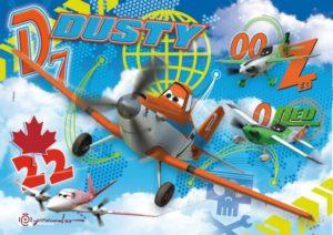 Clementoni Παζλ 104 Maxi-Disney Planes No2 (23646)