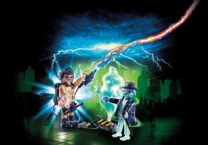 Playmobil Ghostbusters Δρ. Σπένγλερ & Φάντασμα (9224)