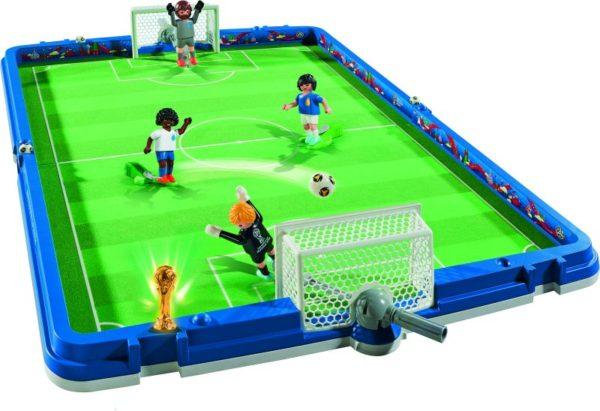 Playmobil FIFA 2018 Γήπεδο Ποδοσφαίρου-Βαλιτσάκι World Cup Russia (9298)