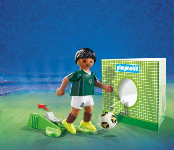 Playmobil FIFA 2018 Ποδοσφαιριστής Μεξικού (9515)
