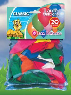 Μπαλόνια 20 Τμχ (161200)