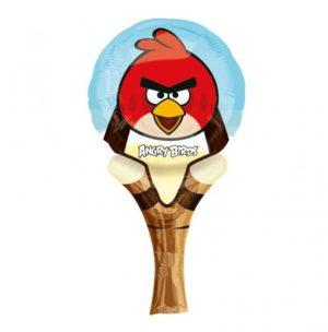 Μπαλόνι Angry Birds Με Χειρολαβή-1 Τμχ (Α2736001)