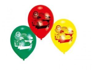 Μπαλόνια Cars 6Τμχ (Μ450229)