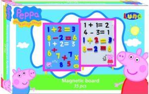 Peppa Pig Μαγνητικός Πίνακας Αριθμοί 35x23x4-35Τμχ (0480149)