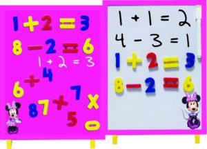 Minnie Μαγνητικός Πίνακας Αριθμοί 35Τμχ (0560082)