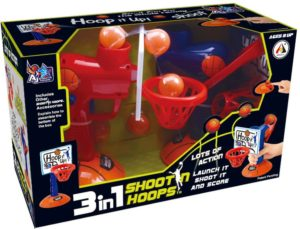 BW AJ Επιτραπέζιο Σετ Μπασκετάκι 3 In 1 Shooting Hoops (AJ3115BK)