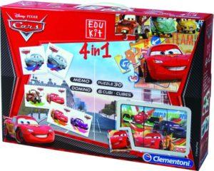Cars Παιχνίδια 4 σε 1 (1040-93225)