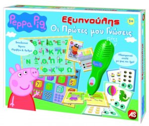 Εξυπνούλης Peppa Pig-Οι Πρώτες Μου Γνώσεις (1020-63203)