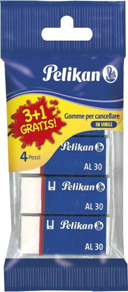 Pelikan Γομολάστιχες AL30 3+1 (6535)