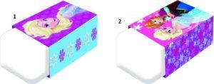 Frozen Γόμα-2 Σχέδια (0561059)