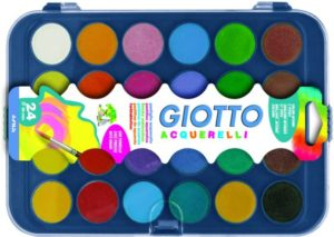 Giotto Νερομπογιά-24 Χρώματα (332000)