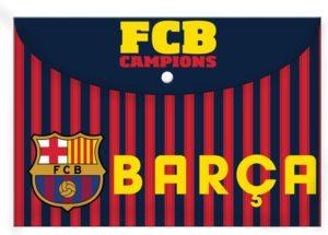Barcelona Φάκελος Κουμπί Α4 (0170648)
