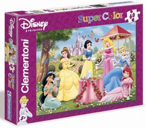 Clementoni Παζλ 60 S.C. Disney-Princess (1200-26785)
