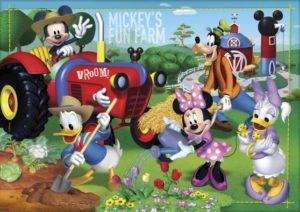 Clementoni Παζλ 24 Maxi Disney-Mickey's Fun Farm (24435)