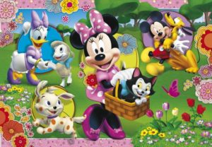 Clementoni Παζλ 104 Maxi Disney Minnie's Garden (23636)