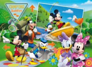 Clementoni Παζλ 104 Disney-Mickey Club House:Camping Buddies (27795)