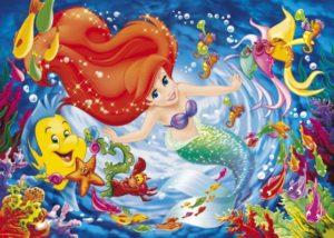 Clementoni Παζλ 104 Disney The Little Mermaid-The Deep Sea (27862)