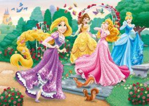 Clementoni Παζλ 250 Disney Princess-A Walk In The Garden (29660)