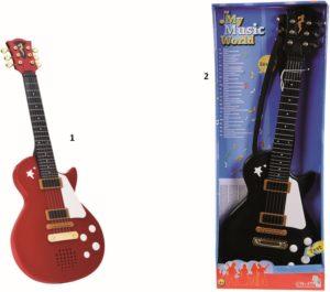 Simba Κιθάρα Super Rock B/O-2 Σχέδια (6837110)