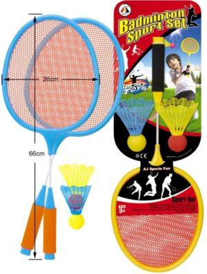 BW AJ Σετ Badminton 66cm (AJ1808-2RK)